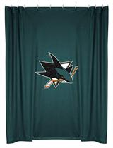 San Jose Sharks  Shower Curtain