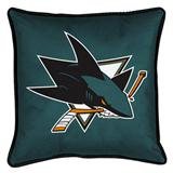 San Jose Sharks Sidelines Decorative Pillow