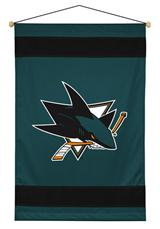 San Jose Sharks Sidelines Wallhanging