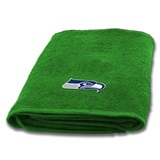 Seattle Seahawks Appliqué Bath Towel