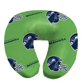 Seattle Seahawks Beaded Neck Pillow