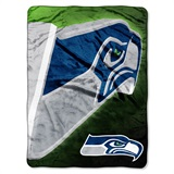 "Seattle Seahawks ""Bevel"" Micro Raschel Throw"