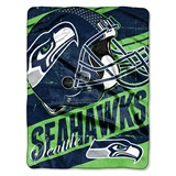 "Seattle Seahawks ""Deep Slant"" Micro Raschel Throw"