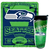 Seattle Seahawks Mug N' Snug Gift Set