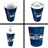 Seattle Seahawks  NFL 4 piece Bath Set