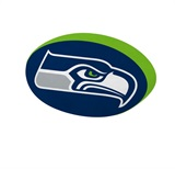 Seattle Seahawks NFL Cloud Pillow