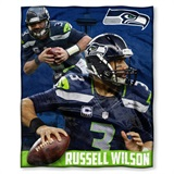 Seattle Seahawks Players HD Silk Touch Throw