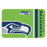 Seattle Seahawks Round Edge Bath Rug