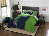 "Seattle Seahawks ""Soft & Cozy"" Full Comforter Set"