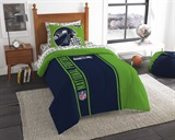 "Seattle Seahawks ""Soft & Cozy"" Twin Comforter Set"