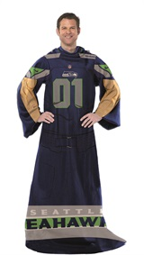 "Seattle Seahawks ""Uniform"" Adult Comfy Throw"