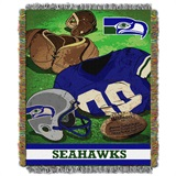 "Seattle Seahawks ""Vintage"" Woven Tapestry Throw"