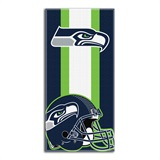 "Seattle Seahawks ""Zone Read"" Beach Towel"