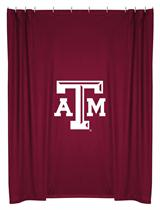 Texas A&M Aggies  Shower Curtain
