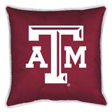 Texas A&M Aggies Sidelines Decorative Pillow
