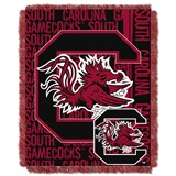 "South Carolina ""Double Play"" Woven Jacquard Throw"