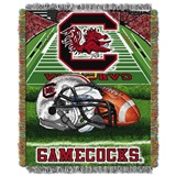 "South Carolina ""Home Field Advantage"" Woven Tapestry Throw"