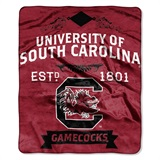"South Carolina ""Label"" Raschel Throw"
