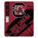"South Carolina ""Painted"" Fleece Throw"