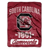 "South Carolina ""Varsity"" Micro Raschel Throw"