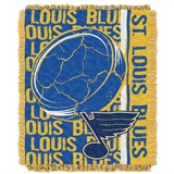 "St. Louis Blues NHL ""Double Play"" Woven Jacquard Throw"