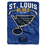 "St. Louis Blues NHL ""Inspired"" Raschel Throw"