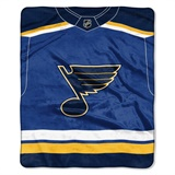 "St. Louis Blues NHL ""Jersey"" Raschel Throw"