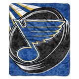 "St. Louis Blues NHL ""Puck"" Sherpa Throw"