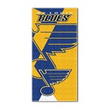 "St. Louis Blues NHL ""Puzzle"" Beach Towel"