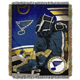"St. Louis Blues NHL ""Vintage"" Woven Tapestry Throw"