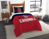 "St. Louis Cardinals MLB ""Grand Slam"" Twin Comforter Set"