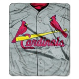 "St. Louis Cardinals MLB ""Jersey"" Raschel Throw"