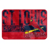 "St. Louis Cardinals MLB ""Worn Out"" Foam Bath Mat"