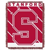 "Stanford  Cardinals NCAA ""Fullback"" Baby Woven Jacquard Throw"