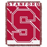 "Stanford ""Fullback"" Baby Woven Jacquard Throw"