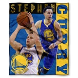 Stephen Curry - Golden State Warriors NBA Players HD Silk Touch Throw