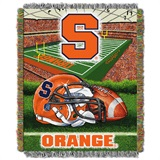 "Syracuse ""Home Field Advantage"" Woven Tapestry Throw"