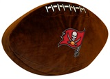 Tampa Bay Buccaneers Football Shaped 3D Pillow