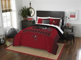 "Tampa Bay Buccaneers NFL ""Draft"" Full/Queen Comforter Set"