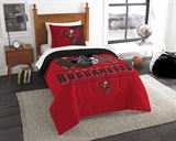 "Tampa Bay Buccaneers NFL ""Draft"" Twin Comforter Set"