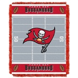 "Tampa Bay Buccaneers NFL ""Field"" Baby Woven Jacquard Throw"