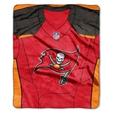 "Tampa Bay Buccaneers NFL ""Jersey"" Raschel Throw"