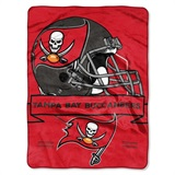 "Tampa Bay Buccaneers NFL ""Prestige"" Raschel Throw"