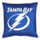 Tampa Bay Lightning Sidelines Decorative Pillow