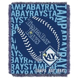 "Tampa Bay Rays MLB ""Double Play"" Woven Jacquard Throw"