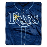 "Tampa Bay Rays MLB ""Jersey"" Raschel Throw"