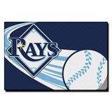 Tampa Bay Rays MLB Tufted Rug