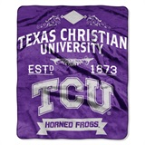"TCU ""Label"" Raschel Throw"