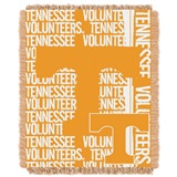 "Tennessee ""Double Play"" Woven Jacquard Throw"