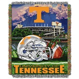 "Tennessee ""Home Field Advantage"" Woven Tapestry Throw"
